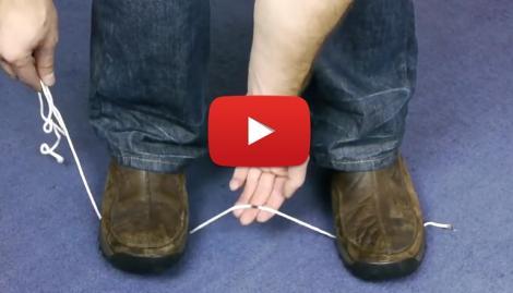 VIDEO: Cum să TAI o sfoară fără să foloseşti nimic ASCUŢIT! Nu te gândeai niciodată la asta
