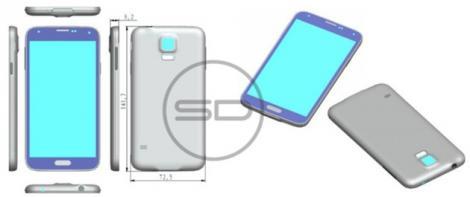 Designul oficial şi cutia la Galaxy S5 sunt disponibile online