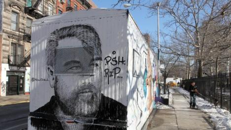 IN MEMORIAM! Artă stradală în memoria lui Philip Seymour Hoffman