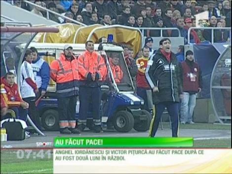 Piţurcă şi Iordănescu au făcut pace