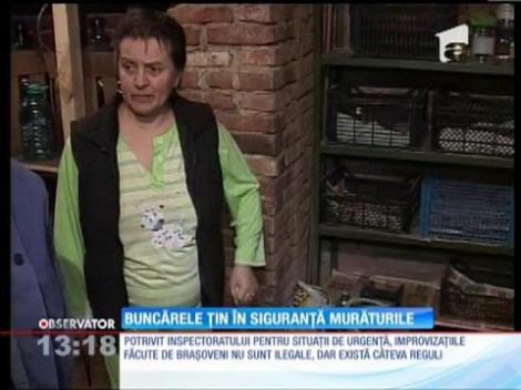 Buncărele blocurilor din România ţin în siguranţă... murăturile!