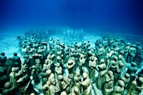 FOTO! Muzeul subacvatic care te va lăsa fără cuvinte