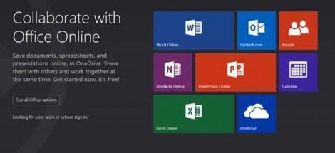Microsoft a lansat Office Online pentru proiecte în deplasare