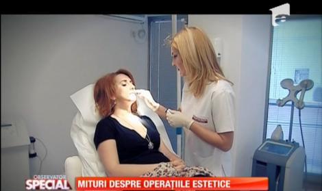 Miturile operaţiilor estetice, demontate de specialiști