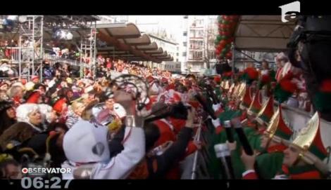 Dans, costumaţii şi râuri de bere! A început unul dintre cele mai vesele carnavaluri din Germania