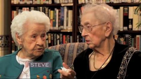 Cea mai lungă prietenie! Două doamne se cunosc de 100 de ani!