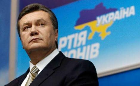 Primele imagini cu fuga lui Victor Ianukovici din Ucraina au fost făcute publice