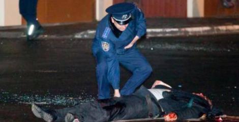 VIDEO: Se întâmplă din nou în UCRAINA! Doi morţi şi cinci răniţi, după ce s-a tras în plină stradă