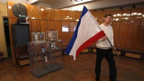 REFERENDUM. 93% dintre locuitorii regiunii Crimeea vor alipirea la Rusia