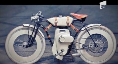 O bicicletă motorizată, concepută de un român, va fi produsă în SUA