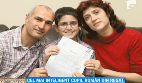 Copiii românilor! Un puști de 11 ani a uimit Marea Britanie cu inteligenţa sa