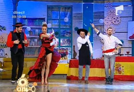 Vamos, vamos! Echipa de la Neatza a luat lecții de dans spaniol
