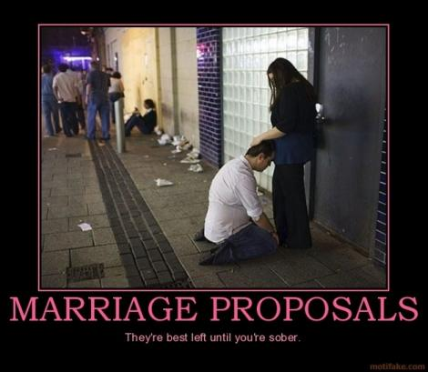 Cum ai vrea să fii cerută de soţie? Iată 20 de moduri care nu-ţi vor plăcea