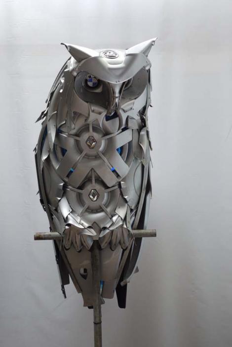 INCREDIBIL! Capace de mașină transformate în adevărate opere de artă (Galerie foto)