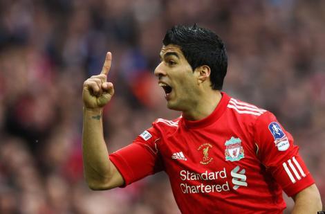Luis Suarez a fost desemnat cel mai bun fotbalist din Anglia