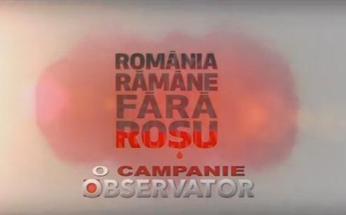 Donează roşu pentru România