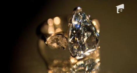 Cel mai mare diamant albastru, o nestemată de 17 milioane de euro