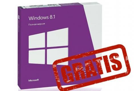 Microsoft Windows 8.1 a devenit gratuit… pentru unii