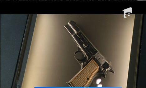 Pistolul cu care s-a încercat asasinarea Papei Ioan Paul al II lea, expus în muzeu