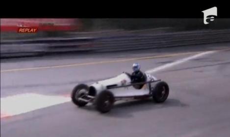 100 de bolizi de Formula 1, de epocă, s-au întrecut la Monte Carlo