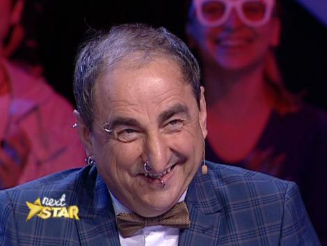 """Este ultima persoană la care te aşteptai să-şi pună cercel în nas. Vasile Muraru, apariţie unică la """"Next Star"""""""