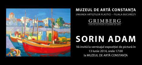Expoziţie de pictură Sorin Adam, la Constanţa