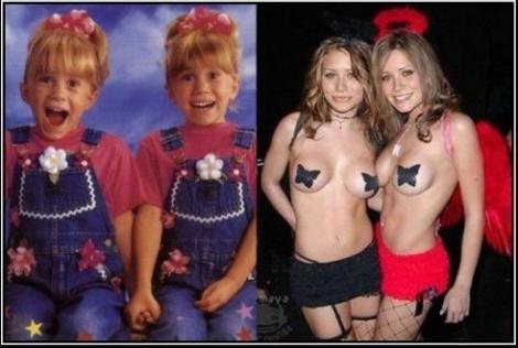 11 vedete transformate de pubertate