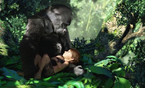 Poveste ruptă din filme! O femeie a trăit exact ca Tarzan, CRESCUTĂ DE MAIMUŢE!!!