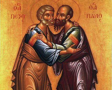 Românii ortodocși îi sărbătoresc pe Sfinții Apostoli Petru și Pavel