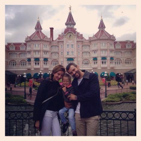 Nicolai Tand, cucerit de celebra Minnie la Disneyland