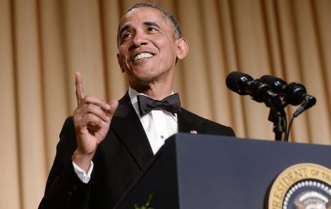 Preşedintele Barack Obama, din nou la volan