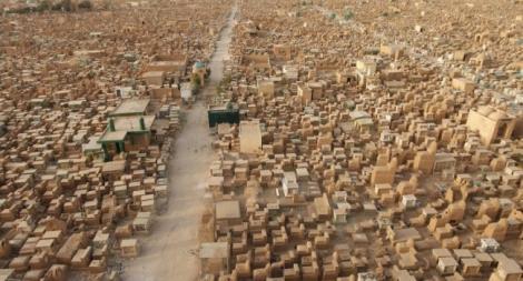 Povestea celui mai mare cimitir din lume! Are cinci milioane de morminte