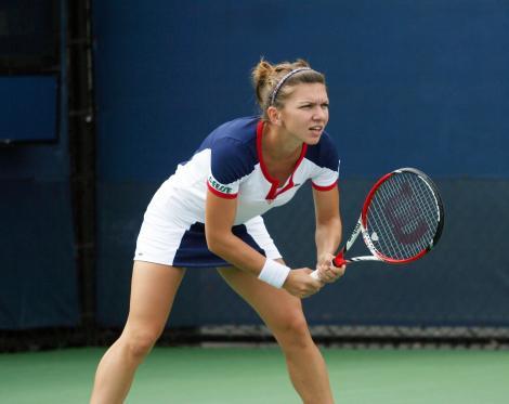 Simona Halep, învinsă de Maria Şarapova în sferturi la Cincinnati