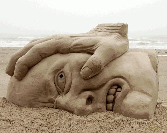 Galerie FOTO! TOP 10 cele mai impresionante sculpturi în nisip
