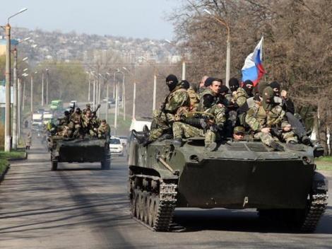 Rusia a invadat Ucraina! Autorităţile de la Kiev cer ajutorul Uniunii Europene