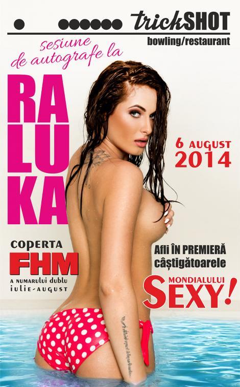 Sesiune de autografe, la TRICKSHOT in Promenada, cu vedetele de pe coperta revistei FHM pe 6 august, ora 20.00