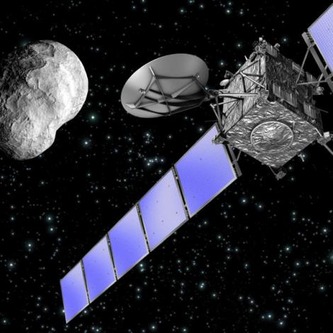 Sonda europeană Rosetta, primul vehicul care a întâlnit o cometă