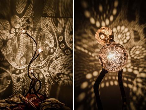 O IDEE GENIALĂ! Cum să transformi o nucă de cocos într-un accesoriu deosebit pentru camera ta