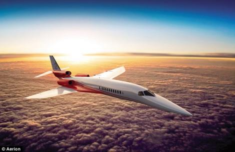 Iei micul dejun la Londra și prânzul la New York: Un nou avion supersonic va zbura cu 1958 de kilometri pe oră!