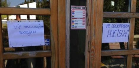 """Faptele de """"vitejie"""" se întorc împotriva lor: Rușii au interzis la un restaurant din Polonia! Patronul refuză să-i deservească!"""