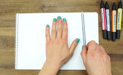 VIDEO GENIAL! Chemaţi copiii în faţa calculatorului! Aşa îţi poţi desena mâna în format 3D