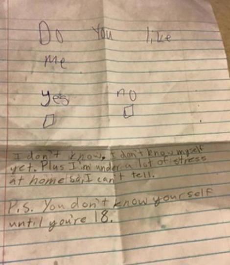 Răspunsul uimitor al unui băieţel de 11 ani căruia i-a fost cerută prietenia de către o puştoaică! Te va emoţiona instant!