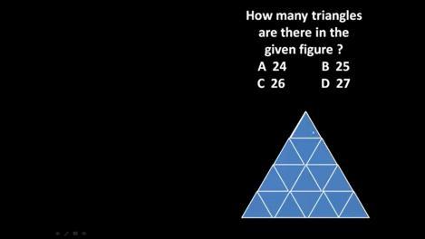 Câte triunghiuri sunt în imaginea asta? Un test simplu, dar care le-a dat bătăi de cap internauților. Facem pariu că nici tu nu ghicești?