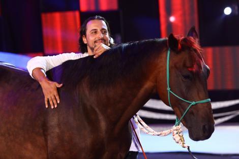 """Denis Ștefan vine la """"Ham talent"""" cu calul!"""
