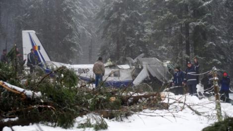 Raport final accident aviatic Apuseni: Motoarele s-au oprit din cauza givrajului sever