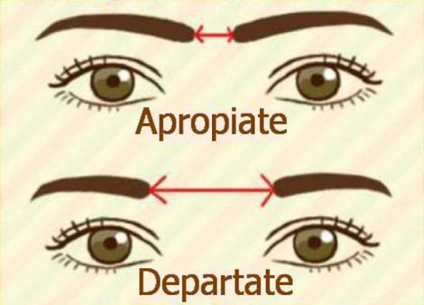 Distanța dintre sprâncene îți poate dezvălui tipul de personalitate