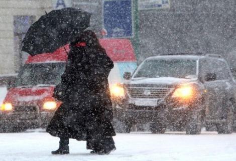 Lapoviţă, ninsori şi temperaturi scăzute în toată ţara! Prognoza meteo pentru perioada 30 noiembrie - 13 decembrie 2015