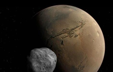 Oamenii de știință avertizează: Phobos, satelitul lui Marte, s-ar putea transforma în inelul planetei