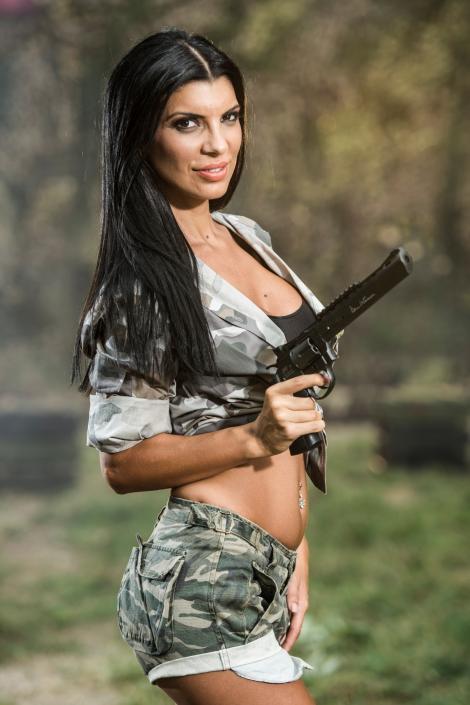 """Antrenamentele și misiunile de la """"Șerifi de România"""" au epuizat-o pe Andreea Tonciu"""