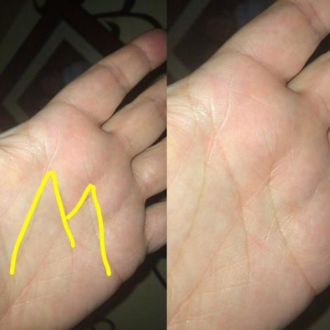 Și tu ai litera M în palmă? Uite ce dezvăluie asta despre tine